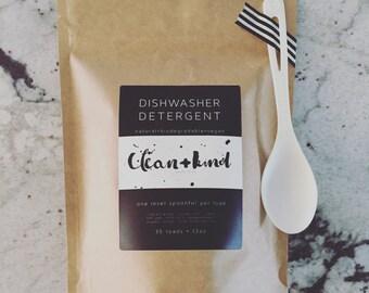 Natural Dishwasher Detergent w/ Essential Oils