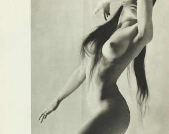 POSTER VINTAGE - erotic poster, naked girl