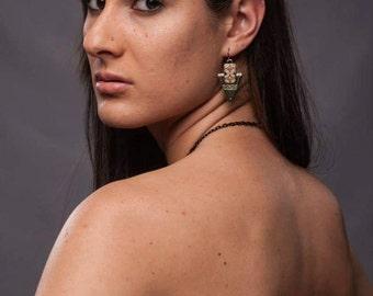 Aztec Arrow Earrings