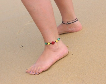 Rasta Bracelets and Anklets