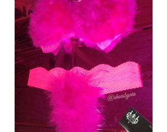 Fluffy Bra & Panty Set