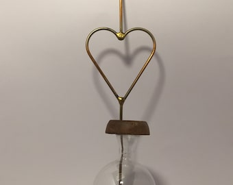 Heart Shaped Vintage Bird Feeder