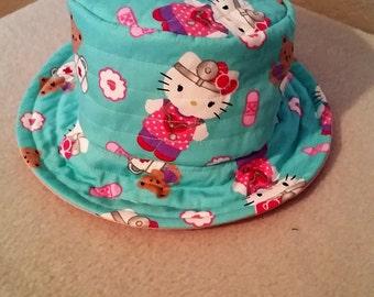 Hello Kitty Blue Spring Child's/Toddler Bucket Hat