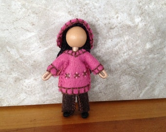 Little Sister Hildie - Pocket Doll - Bendy Doll