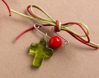 Witness pins , martyrika, Orthodox baptism accessories, Μαρτυρικά Βάπτισης, 50pcs