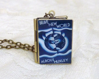 Brave New World Story Locket