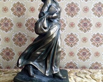 Jennings Brothers Bronze Rare 1930 Pioneer Woman
