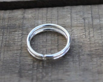 Sterling Silver Ring, 925 Silver Ring, Bezel Ring Jewelry, Promise Ring, Adjustable Ring, Silver Ring, Jewelry, Jewellery, Adjustable Ring