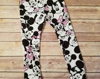 Mickey/Minnie Mouse leggings