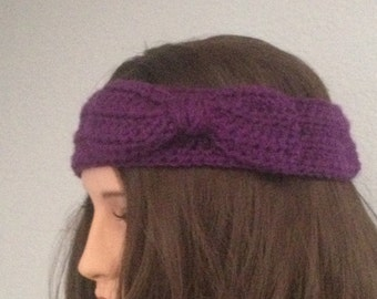 Adjustable Bow Headband