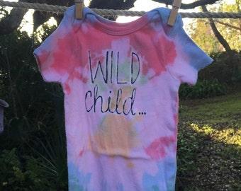 Wild Child Onesie, size 6-12 mos