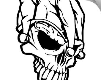 50% Off** Jester Vinyl Decal Limited Time Offer Use Code NEWSHOP16