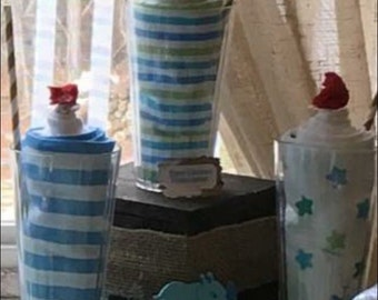 Baby blanket milkshakes