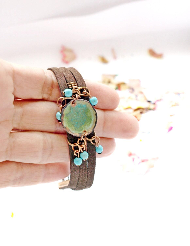 copper bracelets turquoise bracelets blue bracelets gemstone