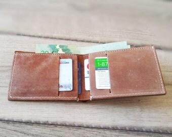 Handmade Mens Leather Wallet Men Womens Leather Wallet Women Leather Bifold Wallet Mens Bifold Wallet Mens Wallet Bifold Leather Wallet