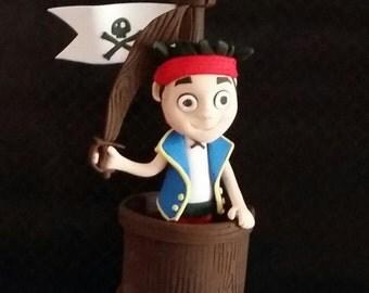 Jake the Pirate edible cake topper