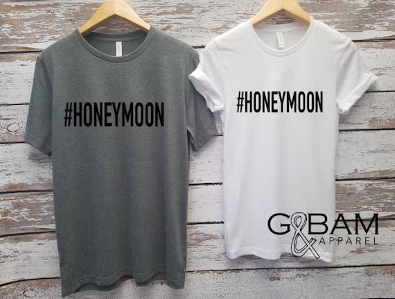 Honeymoon shirts!  Mr. and Mrs. Shirts / Bride & Groom Shirts Unisex T-shirt / Groom shirt/ Bride Shirt / Future MR and MRS