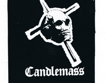 Candlemass Band Patch