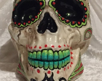 Day of the Dead Skelly Head