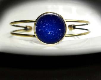 Royal Blue Bracelet Twinkle Jewelry - Twinkle Sky Bracelet Royal Blue Bangle - Twinkle Sky Jewelry Royal Blue Sky Bangle - Blue Bracelet