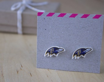 Baltimore Ravens Stud Earrings