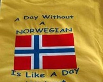 A Day Without a Norwegian Is like A Day Without Sunshine