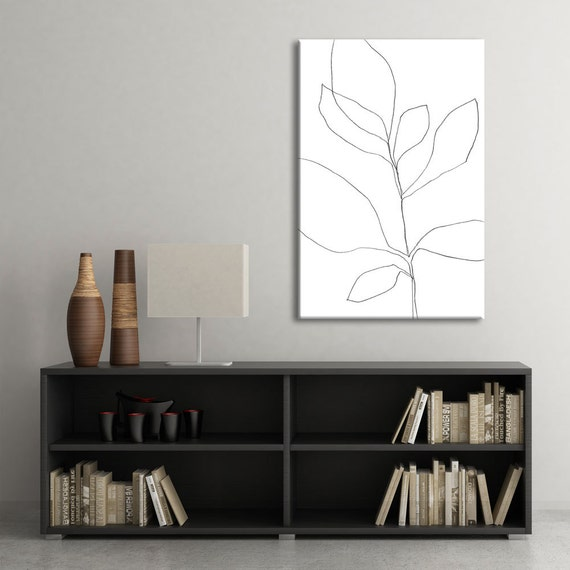 Minimalist wall decor oversized printable art by for Minimalist wall decor