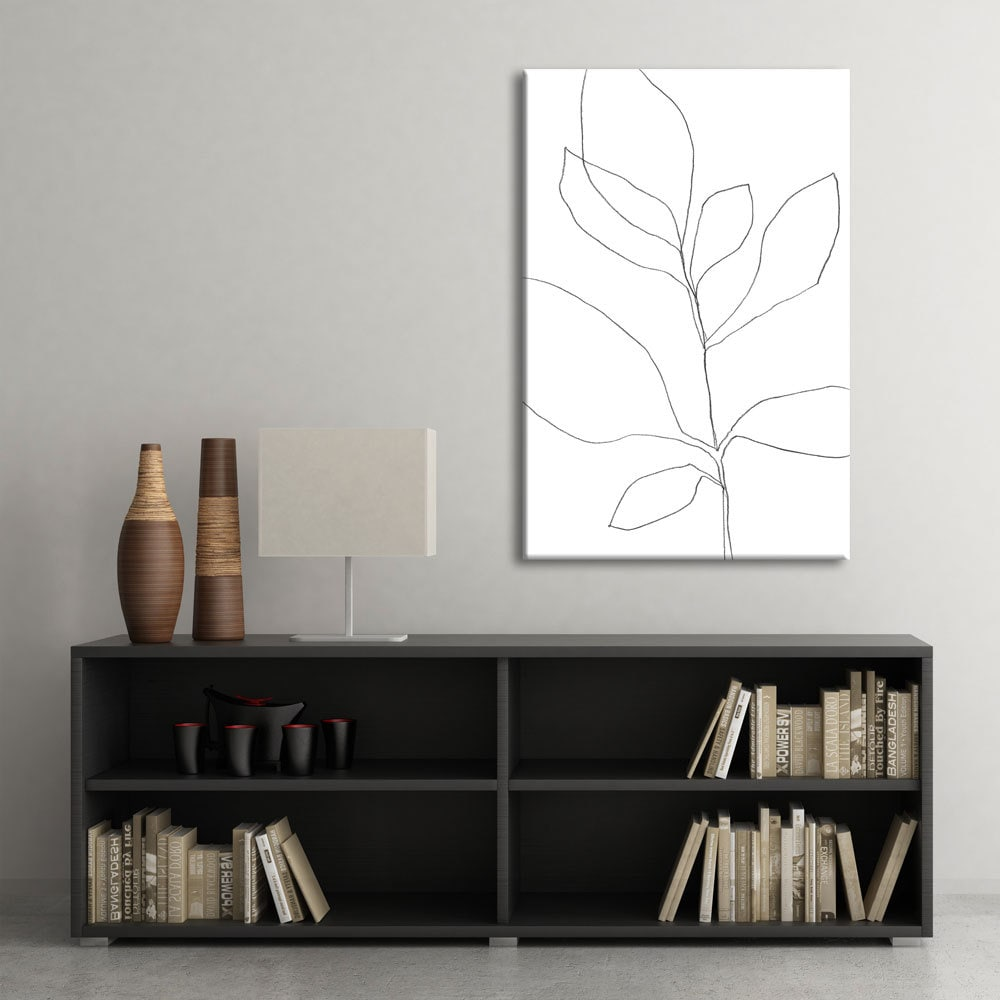 Minimalist wall decor oversized printable art by for Minimalist wall decor ideas