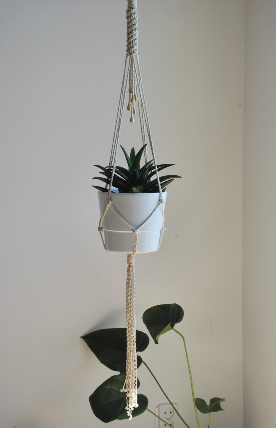 Plant Hanger Hanging Planter Macrame Wall Decor Macrame