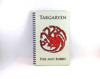 Game of Thrones Weekly Planner (Targaryen Cover)