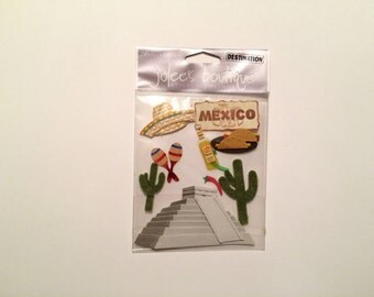 Jolee's Boutique Destination Embellishments - Mexico (10 pieces)