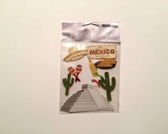Jolee's Boutique Destination Embellishments - Mexico (10 pieces)