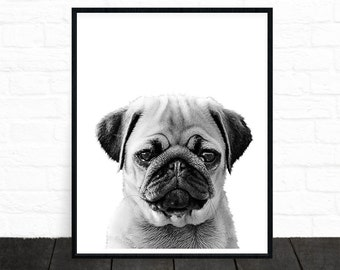 "Shop ""pug gifts"" in Art & Collectibles"