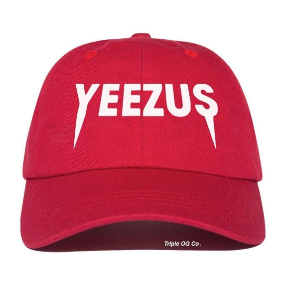 d7ef9cd66f724 ... Strapback By THEINNOVATED Yeezus Hat  Yeezus Hat Yeezus Baseball Cap  Yeezus Baseball Hat By
