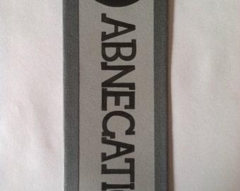 Abnegation Faction Bookmark