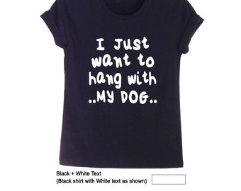 Back to School Funny Pet Gift Dog Lover Gift Dog Shirt Best Friend Gift for Teen Mens T Shirts Womens T-Shirts Tumblr Quote TShirts Clothing