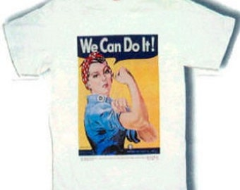 Classic Rosie the Riveter T-Shirt