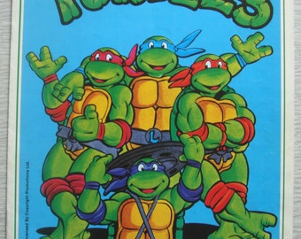 vintage Teenage Mutant Hero Turtles JUMPERS knitting pattern