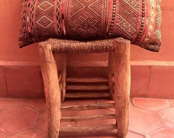 Vintage Moroccan cushion Kilim decorating Berber cushion
