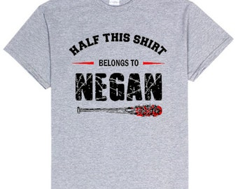 The Walking Dead Shirt - Negan Shirt - TWD - AMC - Team Negan - Negan and Lucille T-shirt - TWD Shirt