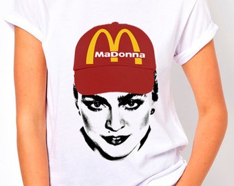T-shirt female and male Madonna t-shirt