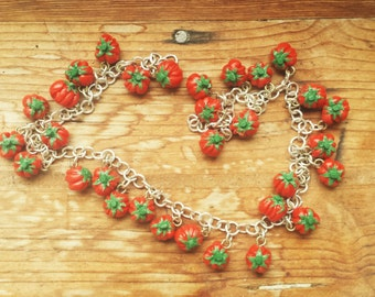 Beefsteak Tomato Necklace