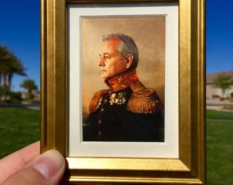 Bill Murray Painting - Mini Framed Art (FREE S&H)