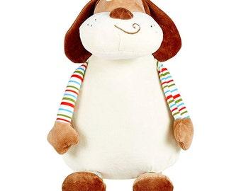 "Baby Cubbies ""Barkley Bone"" Dog/Plush Cubbie/Personalized Plush/Baby Keepsake"