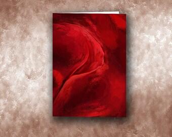 Unfurling Beauty #3 Greeting Card