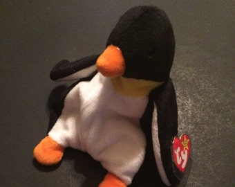 Ty Beanie Baby Waddle With 2 Errors