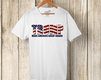TRUMP-Make America Great Again  (Fourth of July, Vote, Patriotic, election)