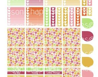 Erin Condren April Horizontal Printable Weekly Kit