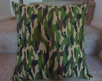 Cammo Throw Pillow