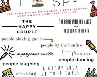 Printable I Spy Game